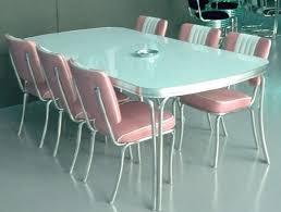 KitchenRetro Kitchen Table And Chairs Set Retro Chrome