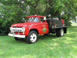 100 Ford Fire Truck 1957 Traded For New Roof Classic Classics