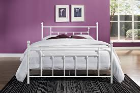 Ebay Queen Bed Frame by White Metal Bed Frame Queen White Queen Bed Frames Bed And Bath