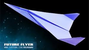How To Make A Paper Airplane Fighter Jet That Flies Great