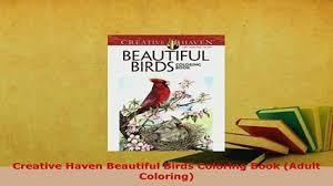 Download Creative Haven Beautiful Birds Coloring Book Adult PDF Full Ebook