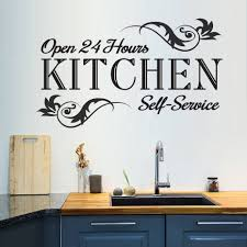 99 Inspiration Furniture Hours Details About Kitchen Open 24 Decor Vinyl Wall Art Decal Quote Wall Sticker