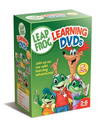 Amazon Leapfrog Learning DVDs 5 Pack Talking Words Factory