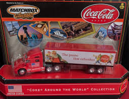 "Matchbox Collectibles Coca-Cola Semi/Truck ""Coke Around The World ... Diecast Toy Snow Plow Models Mega Matchbox Monday K18 Articulated Horse Box Collectors Weekly Peterbilt Tanker Contemporary Cars Trucks Vans Moosehead Beer Matchbox Kenworth Cab Over Rig Semi Tractor Trailer Just Unveiled Best Of The World Premium Series Lesney Products Thames Trader Wreck Truck No 13 Made In Amazoncom Super Convoy Set 4 Ton Fire Sandi Pointe Virtual Library Collections Buy Highway Maintenance 72 Daf Xf95 Space Jasons Classic Hot Wheels And Other Brands 1986 Mobile Crane Dodge Crane 63 Metal"