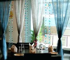 Dining Room Curtains Formal Window Curtain Styles Kitchen Ideas Bay
