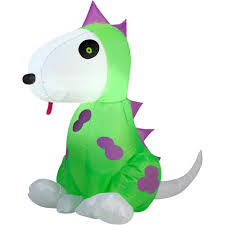 Gemmy Halloween Inflatables 2015 by Gemmy Airblown Inflatable 3 5 U0027 X 2 5 U0027 Dinosaur Costume Dog