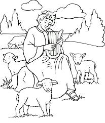 Planse De Colorat Samuel Saul David Si Solomon BibleBible Coloring PagesColoring