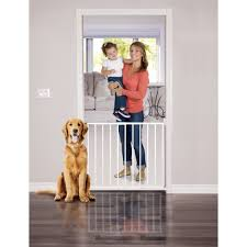 Summer Infant Decor Extra Tall Gate Instructions by Summer Infant 6 U0027 Wide Extra Tall Walk Thru Metal Expansion Gate