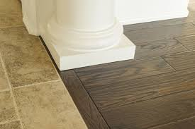 the appealing pic is segment of hardwood to tile transition ideas