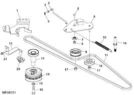 Murray Mower Deck Belt by I Need Help Jd La140 Drive Belt Loose Mytractorforum Com The