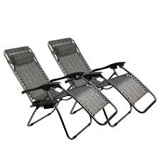 GHP Pack Of 2 PVC Mesh Fabric Seats Grey Zero Gravity Patio Recliner Lounge  Chairs Phi Villa Outdoor Patio Metal Adjustable Relaxing Recliner Lounge Chair With Cushion Best Value Wicker Recliners The Choice Products Foldable Zero Gravity Rocking Wheadrest Pillow Black Wooden Recling Beach Pool Sun Lounger Buy Loungerwooden Chairwooden Product On Details About 2pc Folding Chairs Yard Khaki Goplus Wutility Tray Beige Headrest Freeport Park Southwold Chaise Yardeen 2 Pack Poolside