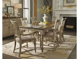 Plymouth Cottage Dining Leg Table, 4 Side Chairs & 2 Arm Chairs By  Flexsteel Wynwood Collection At Great American Home Store