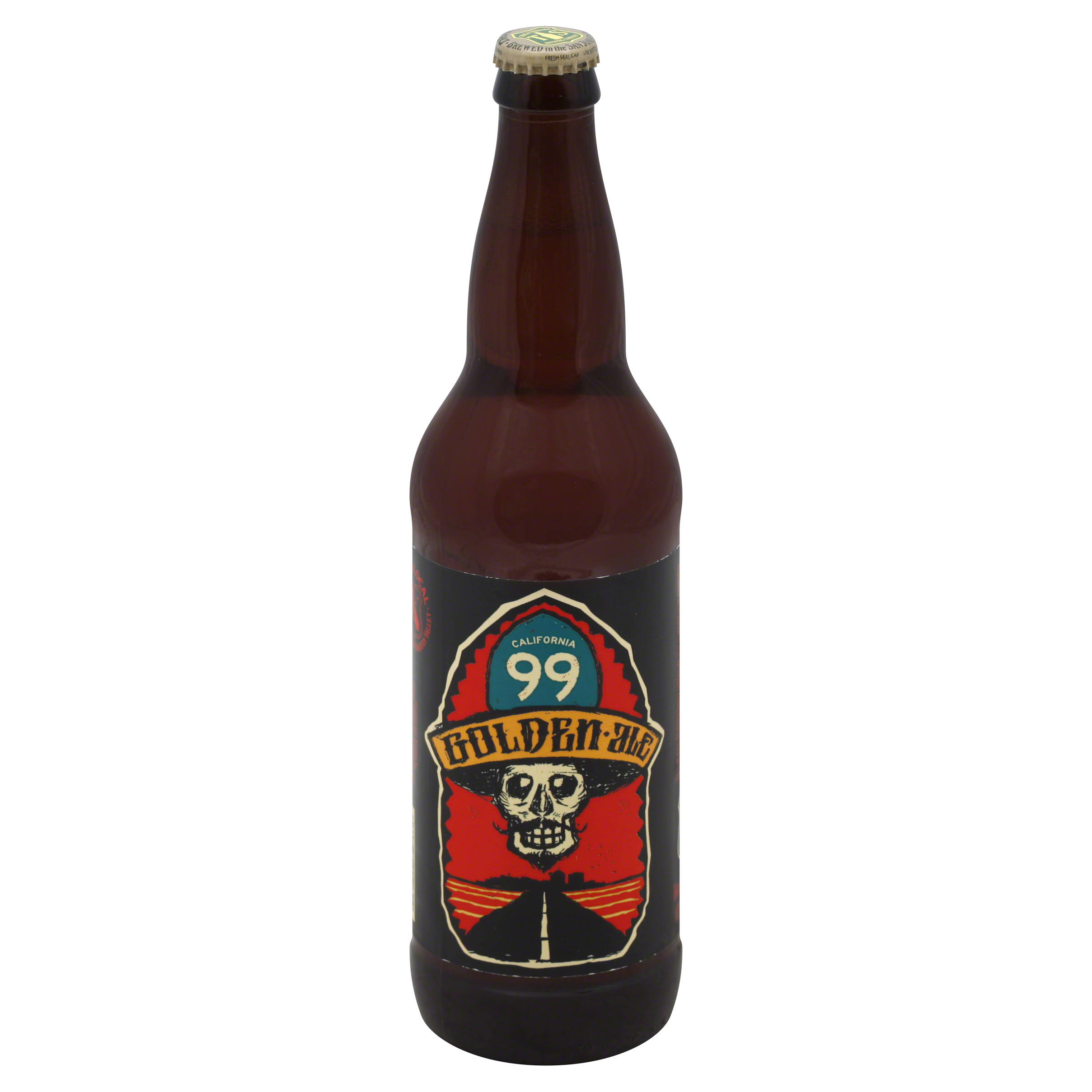 California 99 Honey Golden Ale - 16.9oz