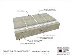 Thin Set Mortar For Porcelain Tile by 06 130 1302 Floor Tile Expansion Joint Over Concrete Control