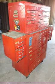 Waterloo 7 Drawer Tool Cabinet by Waterloo Tool Box With Tools Item J9144 Sold February 2