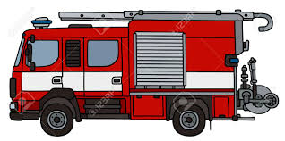 100 Fire Truck Drawing Hand Of A Not A Real Type Royalty Free Cliparts