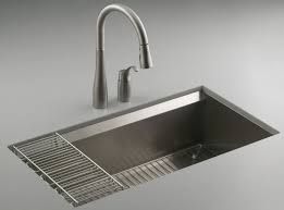 Install Kindred Sink Strainer by Popular Stainless Steel Kitchen Sinks