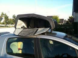 coffre toit de voiture trop de bagages en voiture pensez au coffre de toit souple et