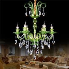 kristall kronleuchter europäisch in grün oder cognac für
