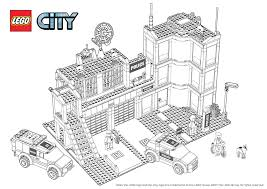Fancy Lego City Coloring Pages 98 About Remodel Free Kids With
