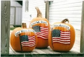 American Flag Pumpkin Pattern by National Pumpkin Day U2013 October 26
