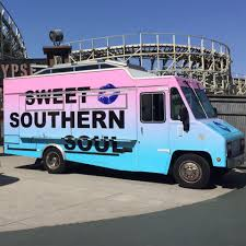 Sweet Southern Soul | Food Trucks In Los Angeles CA Gallery Sweet Mistake Lime Thai Food Truck Omaha Ne Trucks Roaming Hunger Savory Will Bring Healthy Late Night Eats To Bushwick Maxines Treats Ice Cream Travels Central Wisconsin Amsterdam Rolling With Dutch Waffles Soon Eater La Graphics Transform Nc Cernak Studios Truck With Sweet Desserts Stock Vector Anttoniu 154075868 Kenworth W900l Custom Paint Job Pilot Stop Vegan Cookie Counter To Open Storefront In Phinney Ridge Wheels Built By Prestige Youtube New Rolls Out Doughnut Sandwiches Customfoodtruckbudmanufacturervendingmobileccessions