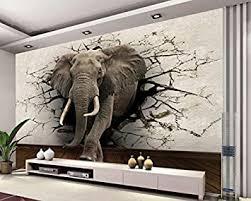 yosot 3d tapete elefanten wandbild tv wand hintergrund wand