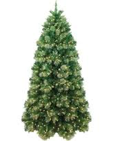 7 Pre Lit Artificial Christmas Tree Gold Tip Cashmere