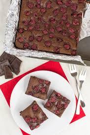 vegane schoko kirsch brownies