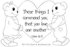 Bible Verse Coloring Page For Valentine Day