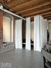 image result for running curtains on a wire basement pinterest