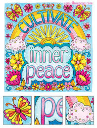 Inner Peace Coloring Page By Thaneeya McArdle