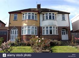 100 Semi Detached House Design England Stock Photos