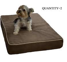 Metropolitan Quarry Tile 107 Boulevard by 19 Indestructable Dog Beds Quantity 2 Durable Waterproof