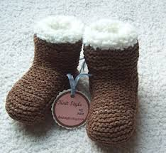 knitted baby ugg boots mindwise