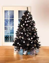 Vert Lifestyle Premium Quality Luxury Black Christmas Tree Decorations Colorado Fir