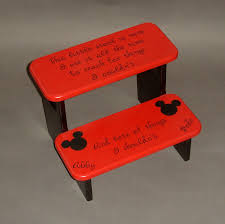Mickey Mouse Bathroom Decorating Ideas by Mickey Mouse Step Stool With Little Stool Is Mine I Use It All The