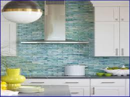 kitchen backsplash glass wall tiles gray glass subway tile green