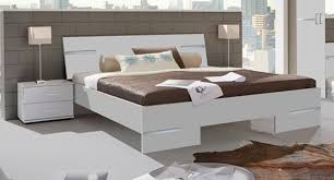 lit chambre à coucher blancl 149 x h 81 x p 200