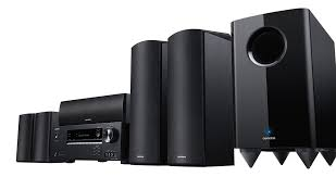 kyo HT S5805 Black 5 1 2 Channel Home Theatre System w Dolby