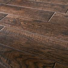 botanica teak 6x24 wood look scraped plank porcelain tile