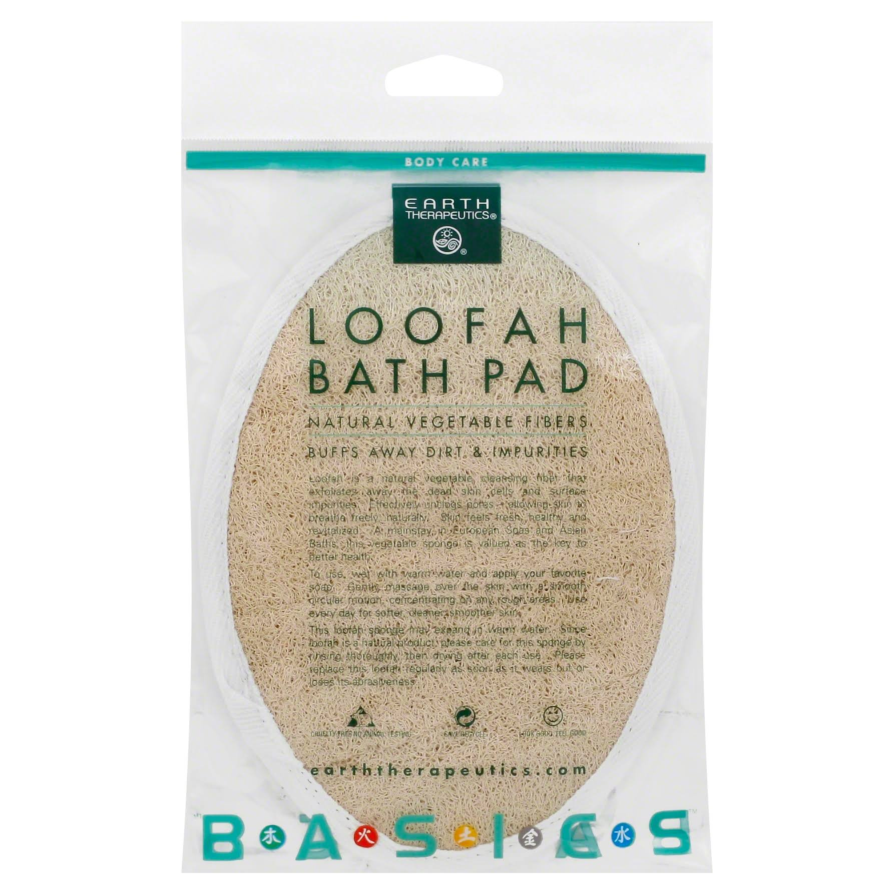 Earth Therapeutics Loofah, Bath Pad