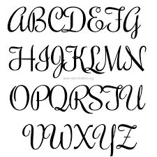 Small Letter Stencil Letters Font