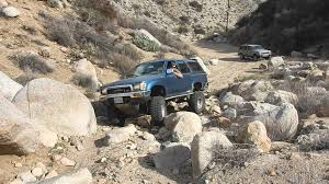Rodriguez Canyon Truck Trail San Diego January 2016 - YouTube