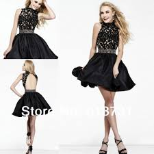 com buy 2014 new style sparkly high neck open back beaded lace