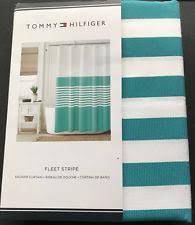 Tommy Hilfiger Curtains Diamond Lake by Tommy Hilfiger Shower Curtain Ebay