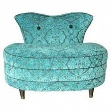 Burke Slipper Chair With Buttons by Best 50 Blue Slipper Chairs Foter