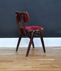 1950 s Red Velvet Chairs Bring It Home