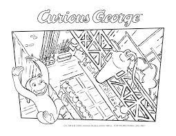 Printable Curious George Coloring Pages Click For Full Size