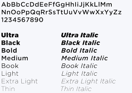Sinclair Fonts